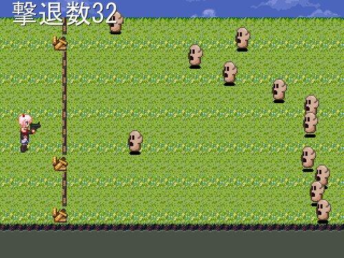 撃て!にわりん! Game Screen Shot3