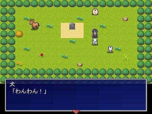 一画面短編ADVゲームを作った気にナレール Game Screen Shot4