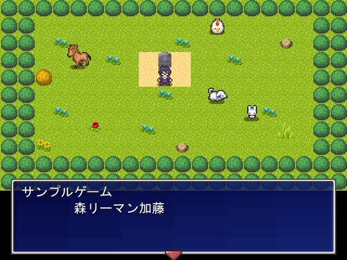 一画面短編ADVゲームを作った気にナレール Game Screen Shots