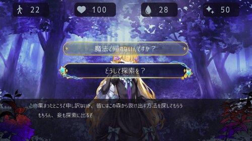 精霊の眠る森 Forest Of Fate Game Screen Shot