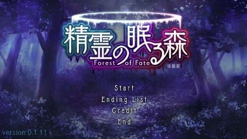 精霊の眠る森 Forest Of Fate Game Screen Shots