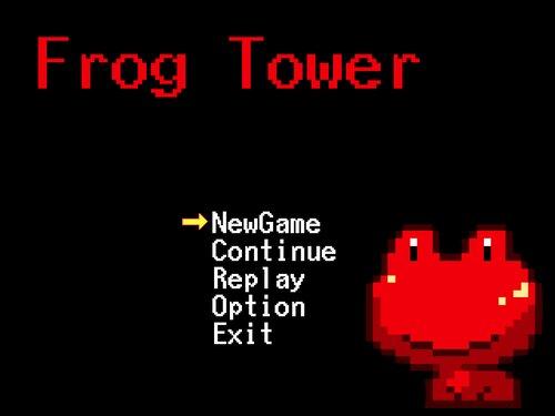 Frog Tower Game Screen Shot