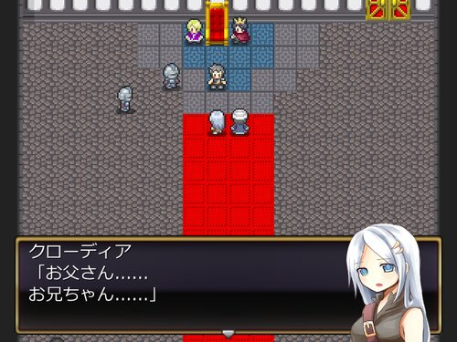 グスタフ戦記 Game Screen Shot3