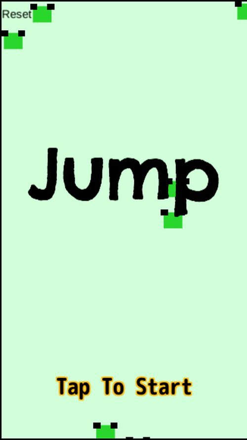 Jump Game Screen Shots