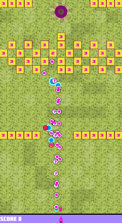 BlockGolf Game Screen Shot