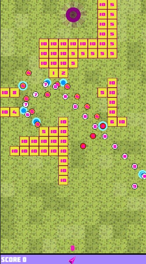 BlockGolf Game Screen Shot2