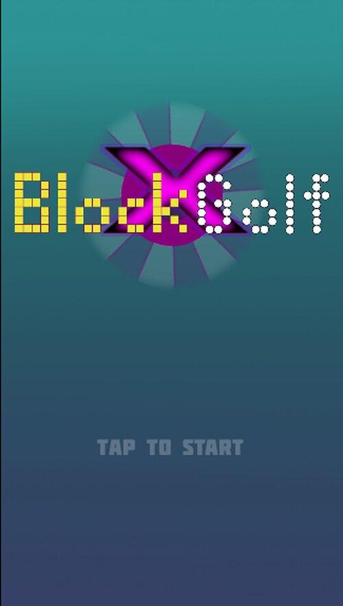 BlockGolf Game Screen Shots