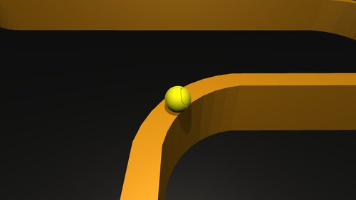 korokoro Game Screen Shot