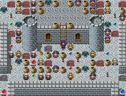 魔塔のマリスと神のカギ Game Screen Shot1