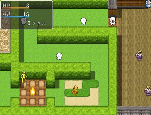 ONJ SOULS Game Screen Shot3