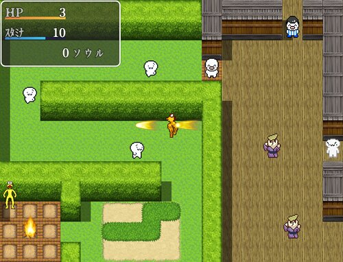 ONJ SOULS Game Screen Shots