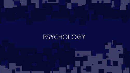PSYCHOLOGY Game Screen Shots