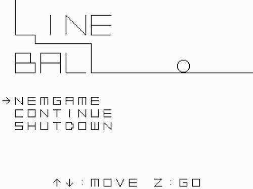 LINE BALL Game Screen Shots