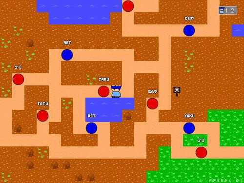 アクエディコラボレーション2020 ヤシーユと平和のクリアボール Game Screen Shot4