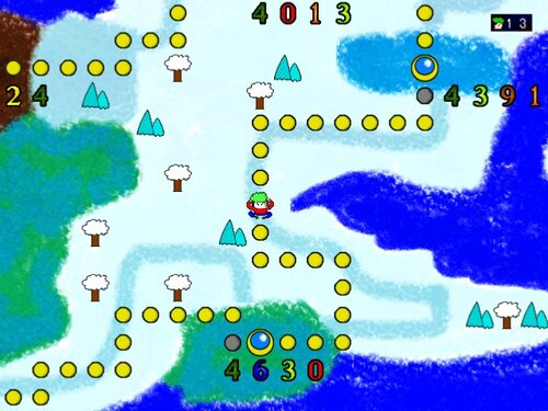 スーパーネコヤシーユ2Dワールド Game Screen Shot2