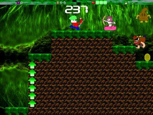 スーパーネコヤシーユ2Dワールド Game Screen Shot3