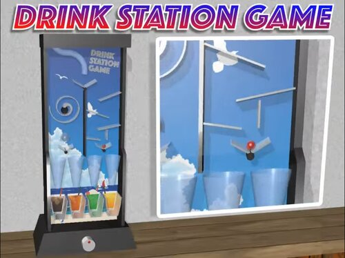 DRINK STATION GAME Game Screen Shot1