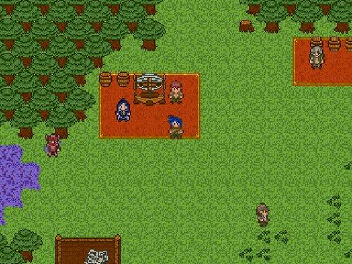 ショートファンタジー ミカイルの大地 Game Screen Shot1