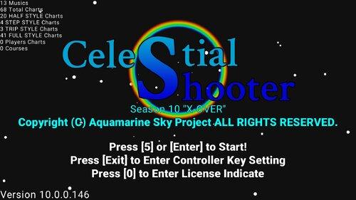 Celestial Shooter Game Screen Shots