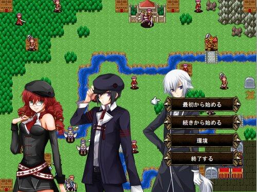 シンプルSRPG 三日月エムブレム Game Screen Shot1