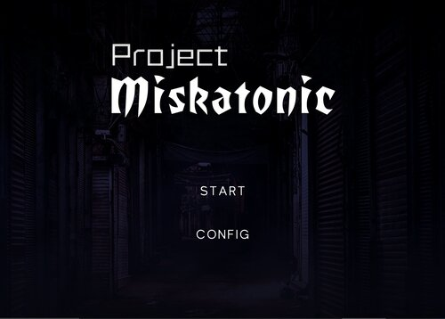 ProjectMiskatonic Game Screen Shots