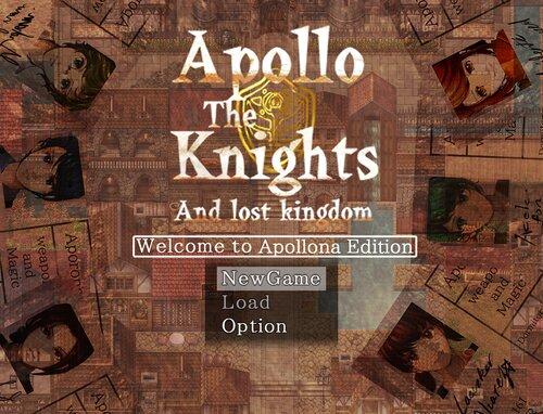 アポロの騎士団と消えた王国~Welcome to apollona edition~ Game Screen Shots