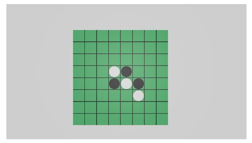 REVERSI Game Screen Shot