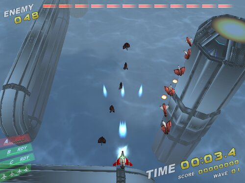 Rampage in the sky Game Screen Shot1