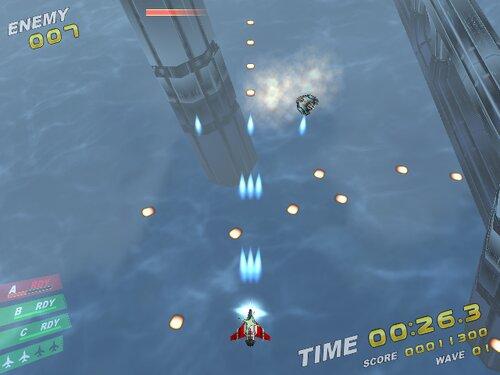 Rampage in the sky Game Screen Shot2