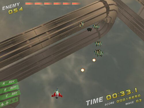 Rampage in the sky Game Screen Shot3