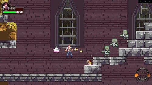 The Monster Gun's Open Alpha Game Screen Shot1
