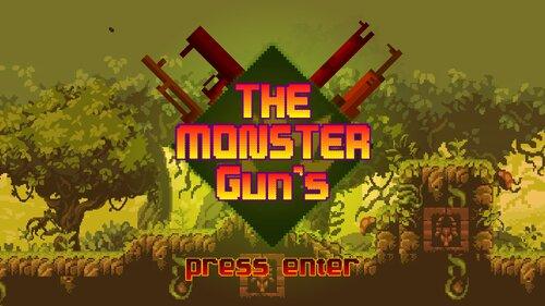 The Monster Gun's Open Alpha Game Screen Shots