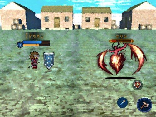 LvUp勇者(未完成版) Game Screen Shot