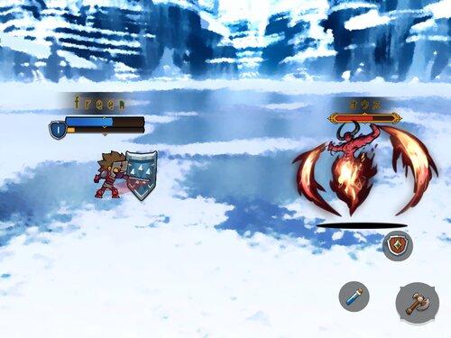 LvUp勇者(未完成版) Game Screen Shot2