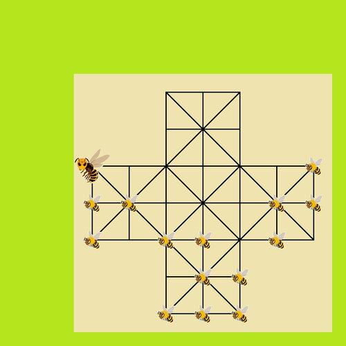 日本ミツバチ対オオスズメバチ Game Screen Shot3