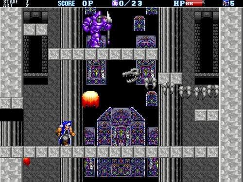 血の鎮魂歌 青の勇者+ Game Screen Shot1