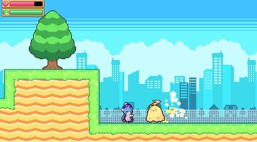 ウナきりアクション! -きりたん砲の謎- Game Screen Shot2