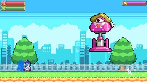 ウナきりアクション! -きりたん砲の謎- Game Screen Shot3