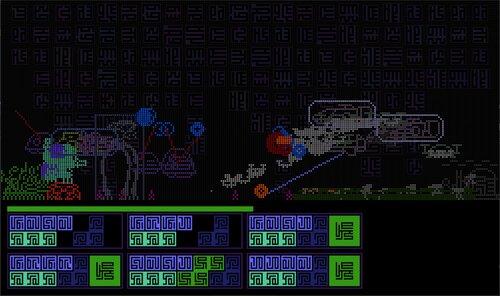 GALACTIC WAR Game Screen Shots