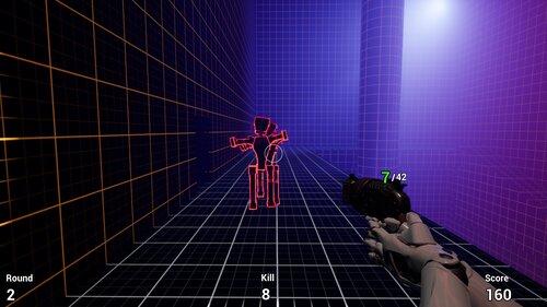 Robot Zombie Shooter Game Screen Shot2
