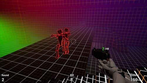 Robot Zombie Shooter Game Screen Shot4