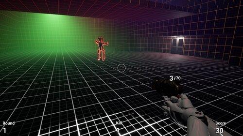Robot Zombie Shooter Game Screen Shot5