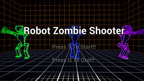 Robot Zombie Shooter Game Screen Shots