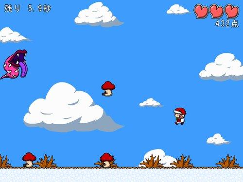 アケオメスレイヤー ~ミコのクリスマスけいかく2020~ Game Screen Shot4