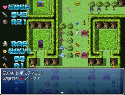 魔塔のマリスと異次元の鏡リチュアル Game Screen Shot3