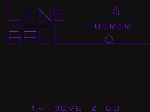 LINE BALL HORROR Game Screen Shots