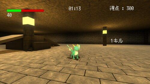 リトルドラゴンのダンジョン修行 Game Screen Shot2
