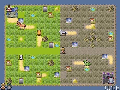 島RPG Game Screen Shot2