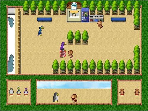 さるぺん合戦 Game Screen Shot1