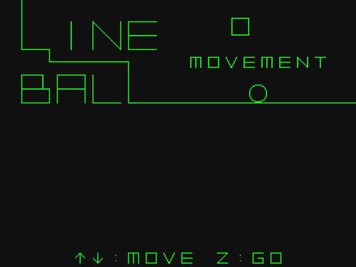LINE BALL MOVEMENT Game Screen Shots